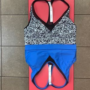 Lululemon 2 NWT Race With Me Tops/Bras 8